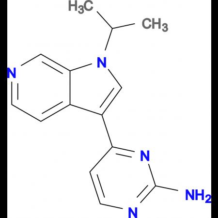 4-(1-Isopropyl-1H-pyrrolo[2,3-c]pyridin-3-yl)pyrimidin-2-amine