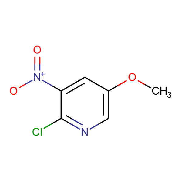 2-Chloro-5-methoxy-3-nitropyridine