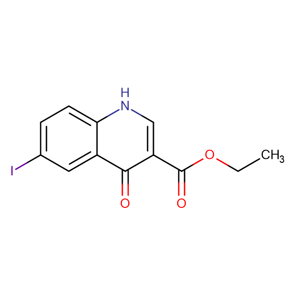 Ethyl 6-iodo-4-oxo-1,4-dihydroquinoline-3-carboxylate