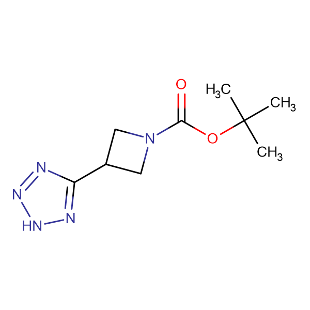 tert-Butyl 3-(2H-tetrazol-5-yl)azetidine-1-carboxylate
