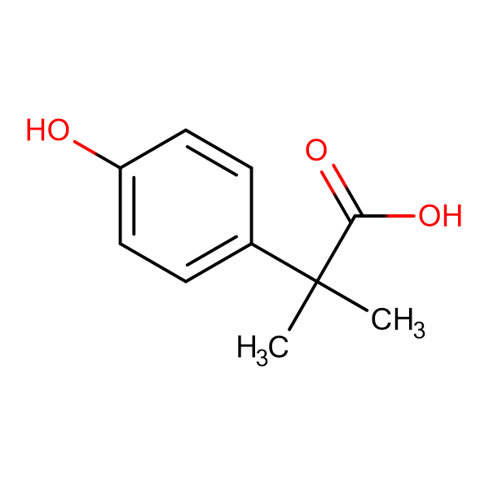 2-(4-Hydroxyphenyl)-2-methylpropanoic acid