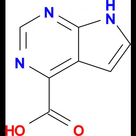 7H-Pyrrolo[2,3-d]pyrimidine-4-carboxylic acid