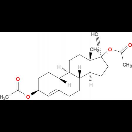 17a-Ethynyl-4-estren-3b,17-diol diacetate