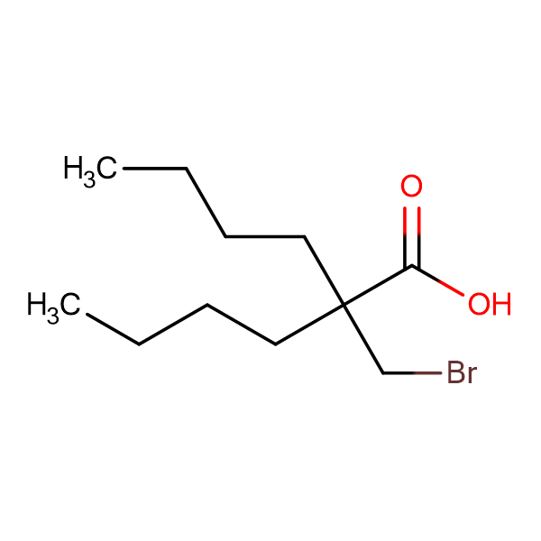 2-(Bromomethyl)-2-butylhexanoic acid