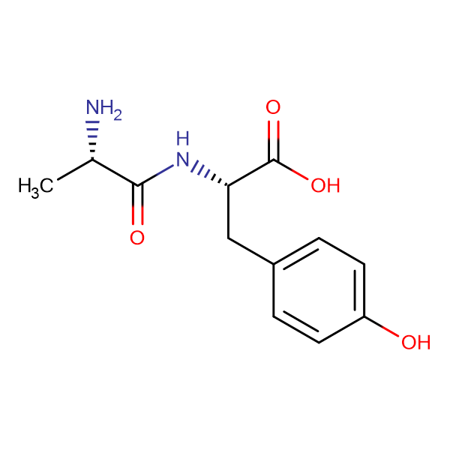 (S)-2-((S)-2-Aminopropanamido)-3-(4-hydroxyphenyl)propanoic acid