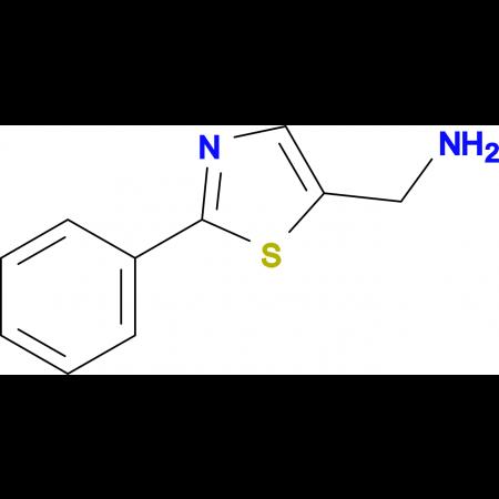 (2-Phenylthiazol-5-yl)methanamine
