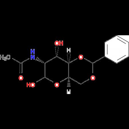 N-((4aR,7R,8R,8aS)-6,8-Dihydroxy-2-phenylhexahydropyrano[3,2-d][1,3]dioxin-7-yl)acetamide