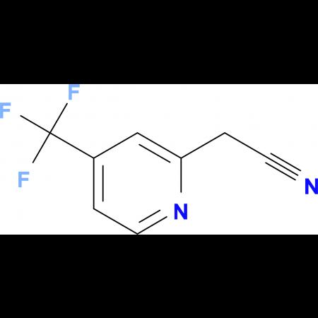 2-(4-(Trifluoromethyl)pyridin-2-yl)acetonitrile