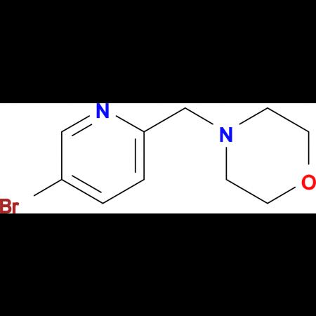 4-((5-Bromopyridin-2-yl)methyl)morpholine