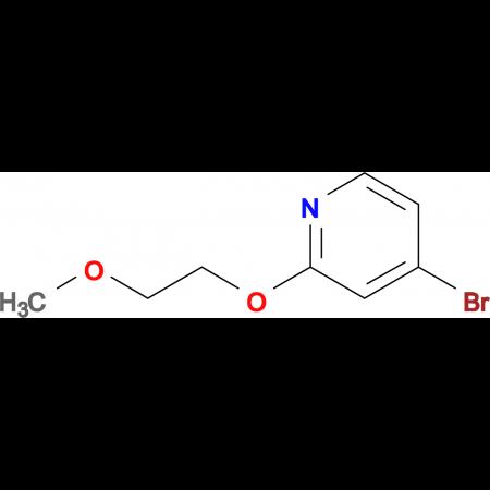 4-Bromo-2-(2-methoxyethoxy)pyridine