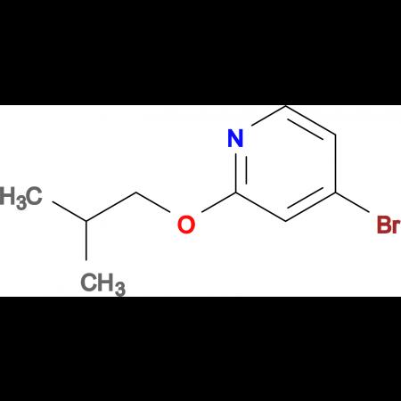 4-Bromo-2-isobutoxypyridine