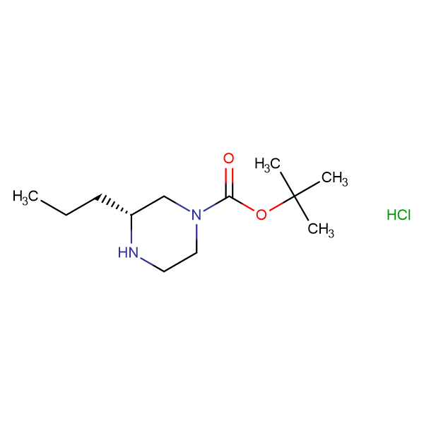 (R)-tert-Butyl 3-propylpiperazine-1-carboxylate hydrochloride