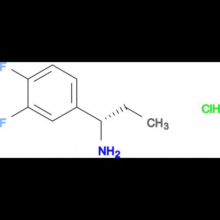 (S)-1-(3,4-Difluorophenyl)propan-1-amine hydrochloride