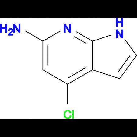 4-Chloro-1H-pyrrolo[2,3-b]pyridin-6-amine