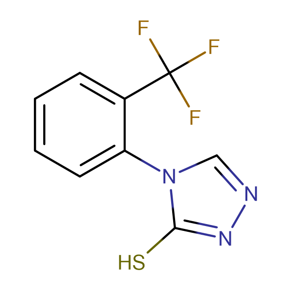 4-(2-(Trifluoromethyl)phenyl)-4H-1,2,4-triazole-3-thiol