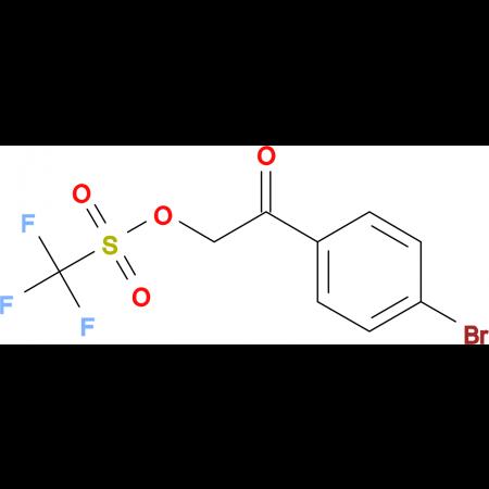 2-(4-Bromophenyl)-2-oxoethyl trifluoromethanesulfonate