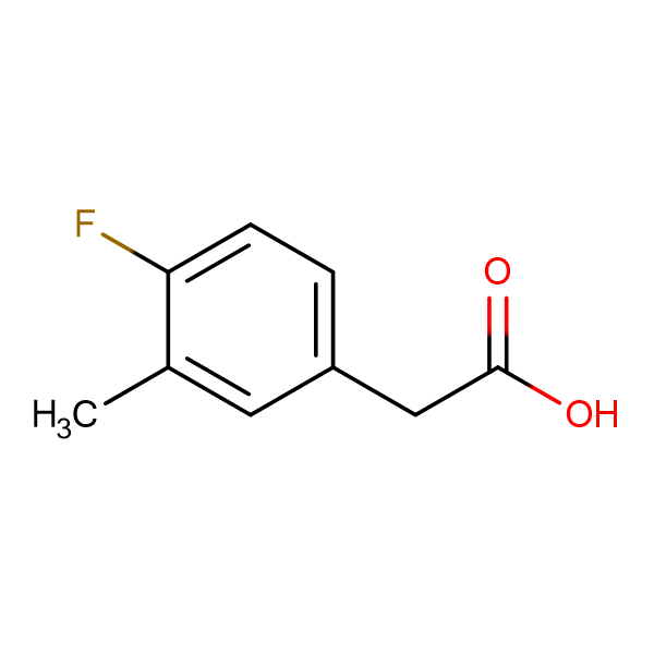 2-(4-Fluoro-3-methylphenyl)acetic acid