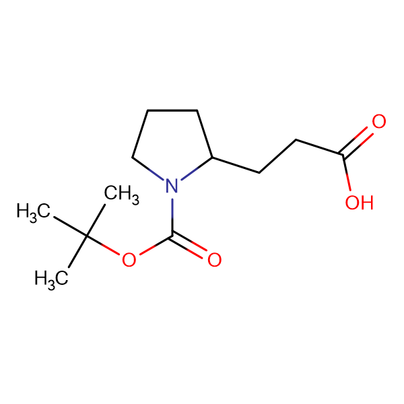 rac 3-(1-Boc-pyrrolidin-2-yl)-propionic acid