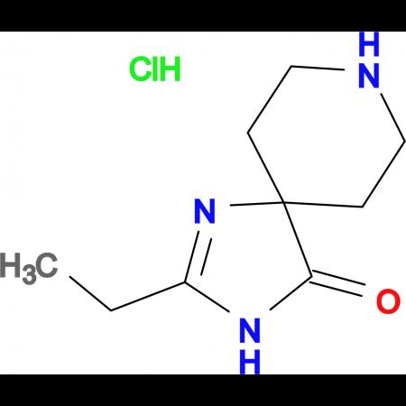 2-Ethyl-1,3,8-triazaspiro[4.5]dec-1-en-4-one hydrochloride