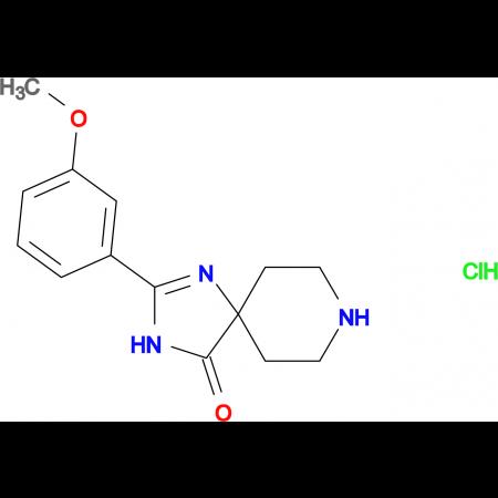 2-(3-Methoxyphenyl)-1,3,8-triazaspiro[4.5]dec-1-en-4-one hydrochloride