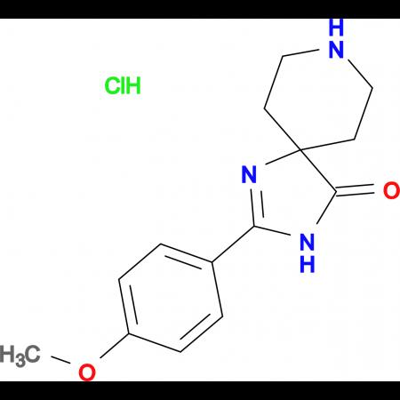 2-(4-Methoxyphenyl)-1,3,8-triazaspiro[4.5]dec-1-en-4-one hydrochloride