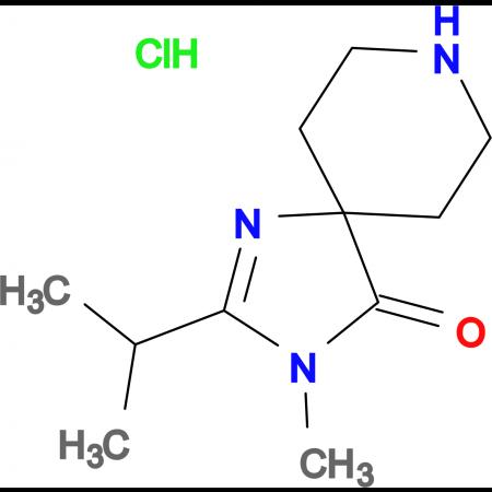2-Isopropyl-3-methyl-1,3,8-triazaspiro[4.5]dec-1-en-4-one hydrochloride