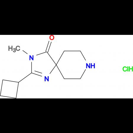2-Cyclobutyl-3-methyl-1,3,8-triazaspiro[4.5]dec-1-en-4-one hydrochloride