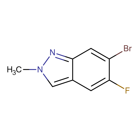 6-BROMO-5-FLUORO-2-METHYL-2H-INDAZOLE