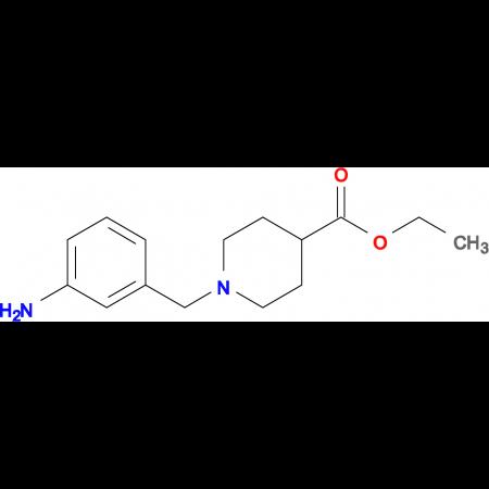 ETHYL 1-(3-AMINOBENZYL)PIPERIDINE-4-CARBOXYLATE