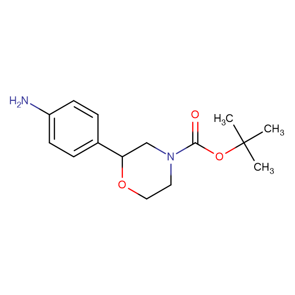 TERT-BUTYL 2-(4-AMINOPHENYL)MORPHOLINE-4-CARBOXYLATE