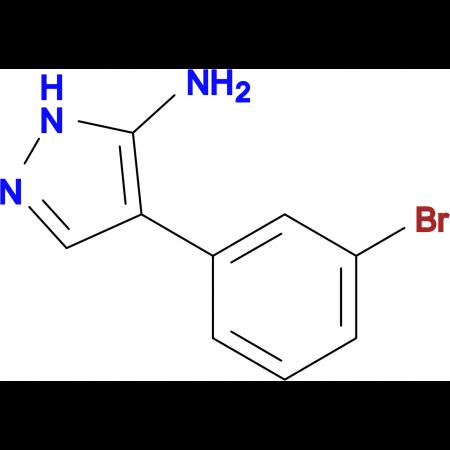 4-(3-BROMOPHENYL)-1H-PYRAZOL-5-AMINE