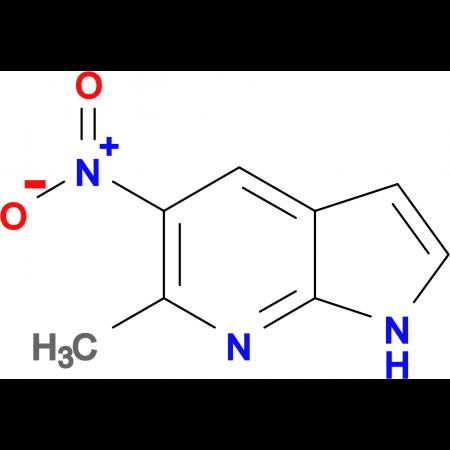 6-METHYL-5-NITRO-1H-PYRROLO[2,3-B]PYRIDINE