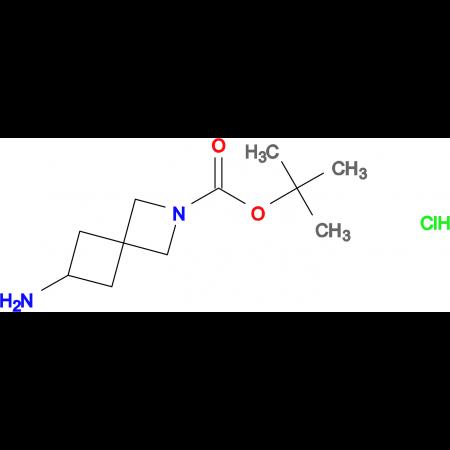 6-AMINO-2-AZA-SPIRO[3.3]HEPTANE-2-CARBOXYLIC ACID TERT-BUTYL ESTER HCL