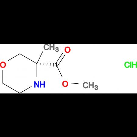 (R)-METHYL 3-METHYLMORPHOLINE-3-CARBOXYLATE HCL