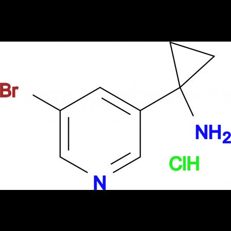 1-(5-BROMOPYRIDIN-3-YL)CYCLOPROPANAMINE HCL