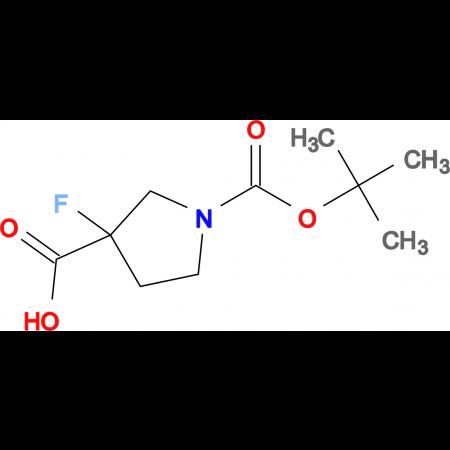 1-(TERT-BUTOXYCARBONYL)-3-FLUOROPYRROLIDINE-3-CARBOXYLIC ACID