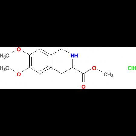 METHYL 6,7-DIMETHOXY-1,2,3,4-TETRAHYDROISOQUINOLINE-3-CARBOXYLATE HCL