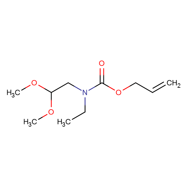 ETHYL ALLYL 2,2-DIMETHOXYETHYLCARBAMATE
