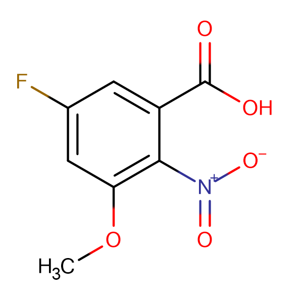 5-Fluoro-3-methoxy-2-nitrobenzoic acid