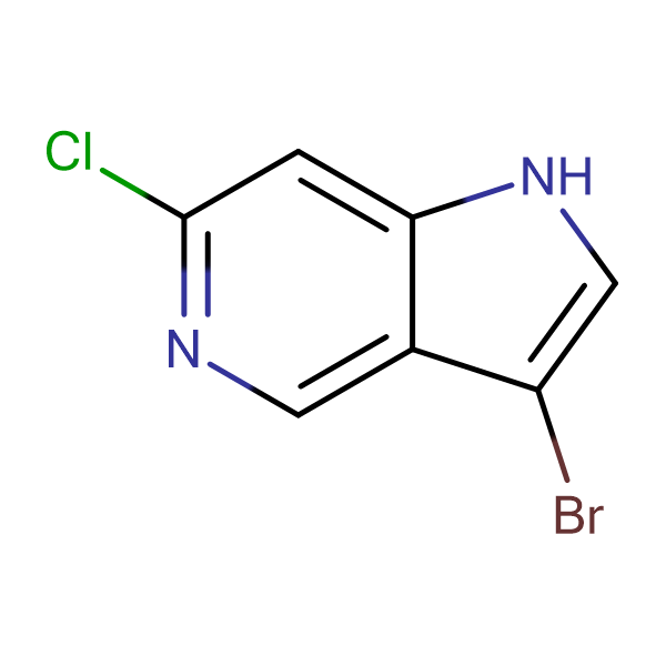 3-Bromo-6-chloro-1H-pyrrolo[3,2-c]pyridine