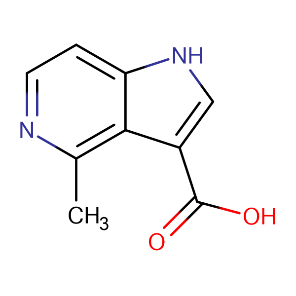 4-Methyl-1H-pyrrolo[3,2-c]pyridine-3-carboxylic acid