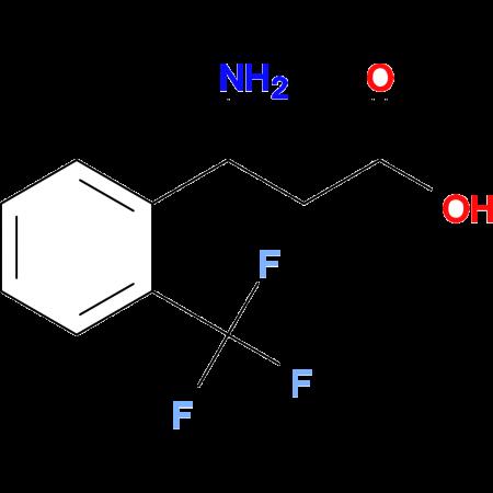 3-Amino-3-(2-(trifluoromethyl)phenyl)propanoic acid