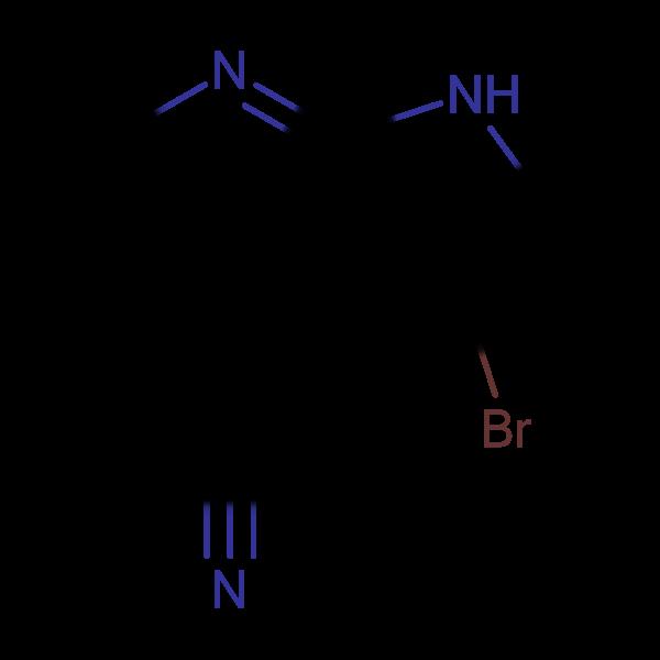 3-Bromo-1H-pyrrolo[2,3-b]pyridine-4-carbonitrile
