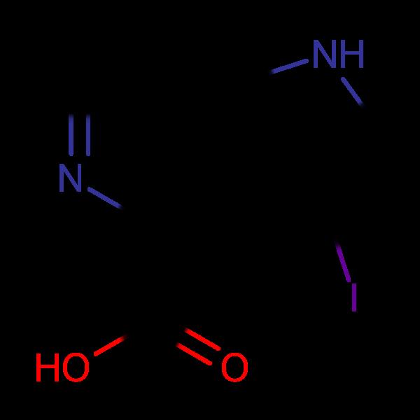 3-Iodo-1H-pyrrolo[3,2-c]pyridine-4-carboxylic acid