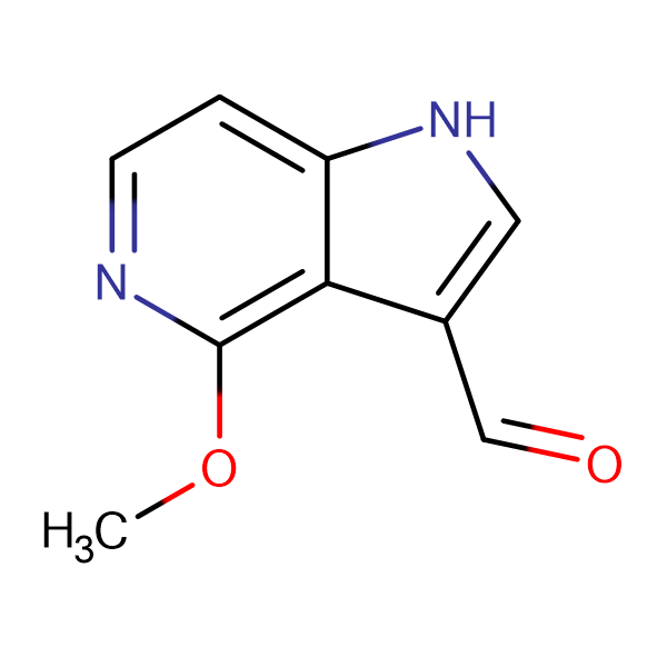 4-Methoxy-1H-pyrrolo[3,2-c]pyridine-3-carbaldehyde