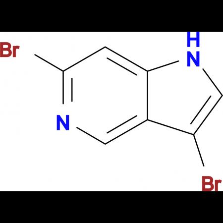 3,6-Dibromo-1H-pyrrolo[3,2-c]pyridine