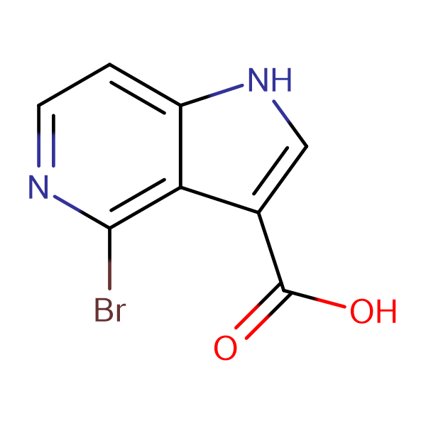 4-Bromo-1H-pyrrolo[3,2-c]pyridine-3-carboxylic acid