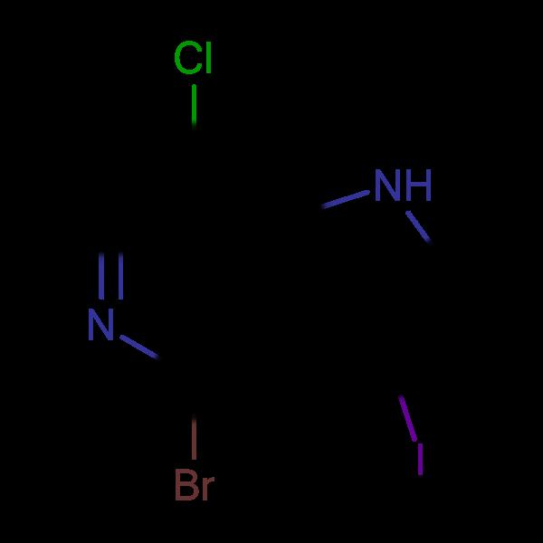 4-Bromo-7-chloro-3-iodo-1H-pyrrolo[3,2-c]pyridine