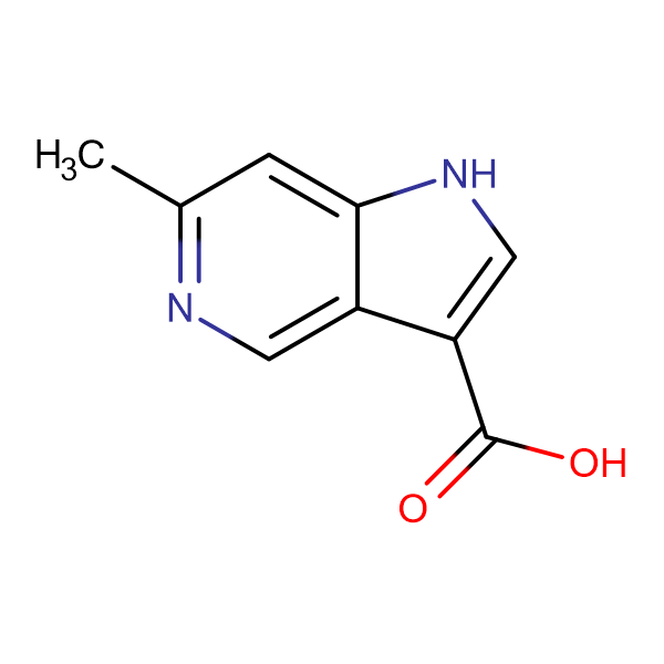 6-Methyl-1H-pyrrolo[3,2-c]pyridine-3-carboxylic acid
