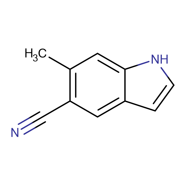 6-Methyl-1H-indole-5-carbonitrile